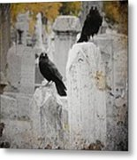Halloween Is In The Autumn Air Metal Print