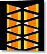 Halloween Candy Corn Metal Print