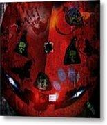 Halloween Metal Print by Denisse Del Mar Guevara