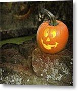 Halloween Jack O Lanterns Metal Print
