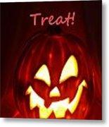 Halloween Trick Or Treat Metal Print