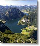 Hallstatt Lake Austria Metal Print