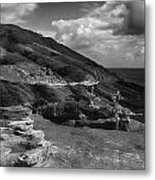 Halona Blowhole Lookout- Oahu Hawaii Metal Print