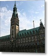 Hamburg - City Hall - Germany Metal Print