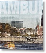 Hamburg Metal Print