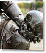 Hamlet Contemplating The Skull  Metal Print by Terri Waters