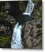 Hamma Hamma Falls Metal Print