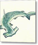 Hammerhead Shark Metal Print