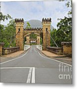 Hampden Bridge Kangaroo Valley Metal Print