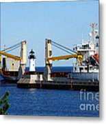 Han Xin Ship Metal Print
