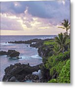 Hana Arches Sunrise 3 - Maui Hawaii Metal Print