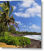Hana Beach Metal Print