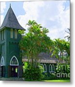 Hanalei Church Metal Print