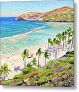 Hanauma Bay - Oahu Metal Print