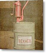 Hand-crank Oil Pump Metal Print