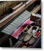Hand Loom Metal Print