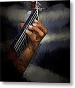 Hand Of A Spanish Guitarist Metal Print