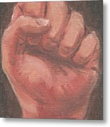 Hand Of God - Life Metal Print