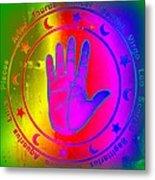 Hand Signs Metal Print