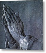 Hands Of An Apostle 1508 Metal Print by Philip Ralley