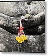 Hands Of Buddha Metal Print