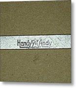 Handy Andy Wrench Metal Print