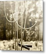 Hang It Up Metal Print