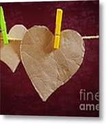Hanged Heart Metal Print