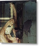 Hanging By A Moment Metal Print