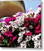 Hanging Flowers 6720 Metal Print