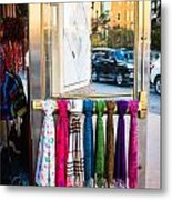 Hanging Out By The Door Metal Print