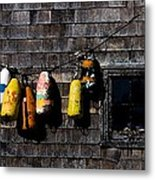 Hanging Out To Dry Metal Print