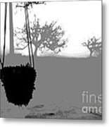 Hanging Pot Dig Metal Print by Stefano Piccini