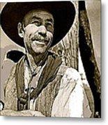 Hank Worden Publicity Photo Red River 1948-2008 Metal Print