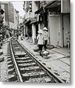 Hanoi Lifestyle Metal Print