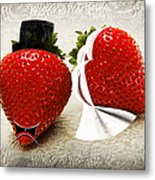 Happily Berry After Metal Print