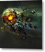 Happy Apocalypse Metal Print