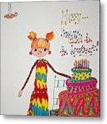 Happy Birthday Metal Print by Mary Kay De Jesus