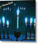 Happy Chanukah Metal Print