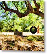Happy Childhood Memories Metal Print