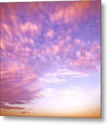 Happy Clouds Metal Print