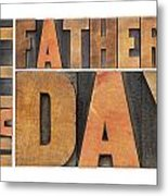 Happy Father Day Metal Print