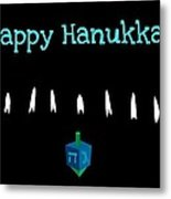 Happy Hanukkah 4 Metal Print