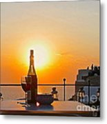 Happy Hour Metal Print