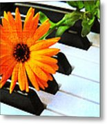 Happy Music Metal Print