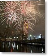 Happy New Year 2014 A Metal Print