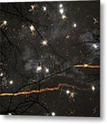 Happy New Year 2014 Two Metal Print