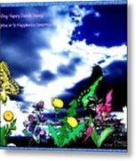 Happy Seeds Inspiration Metal Print