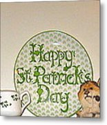 Happy St Patrick's Day  Metal Print
