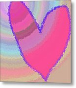 Happy Valentines Day Metal Print